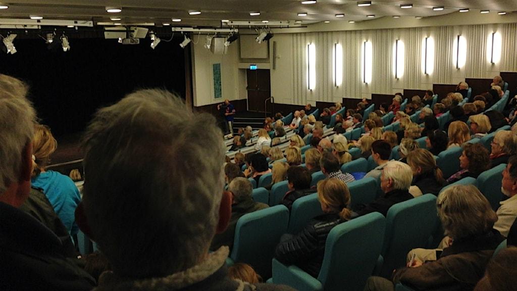 Bild från möte i Lidingö stadshus