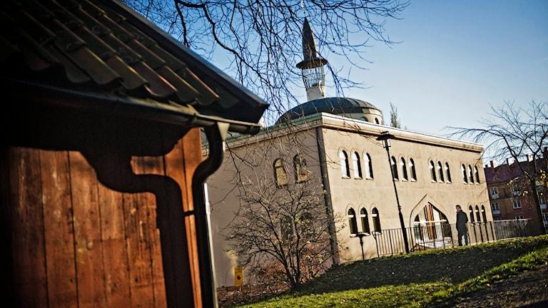 Stockholms moskén. Foto: Marc Femenia /TT.