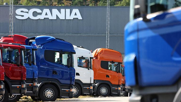 Scania misstänks för kartellsamarbete om miljö. Foto: Fredrik Persson/TT.