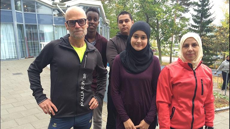 Akalla Run ordnar löprundor för ungdomar kring Järva