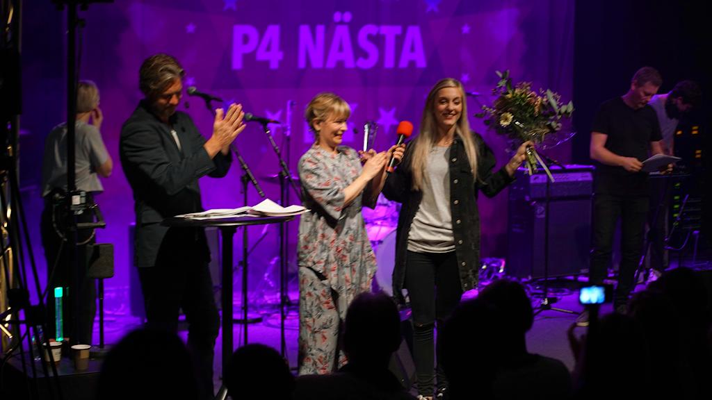 Sofiaa vinnar av Stockholm P4 Näst