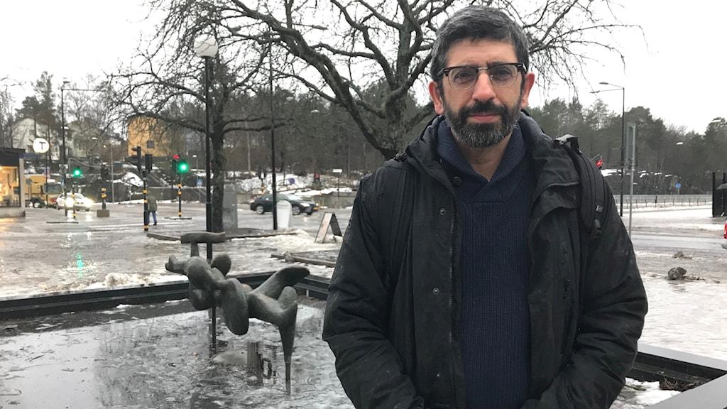 Shervin Shahnavaz, forskare vid Centrum för psykiatriforskning.