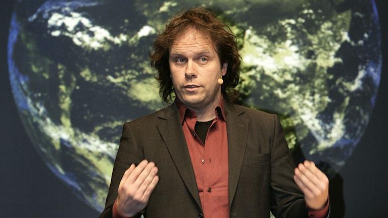 Meterolog Pär Holmgren. Foto: TT.