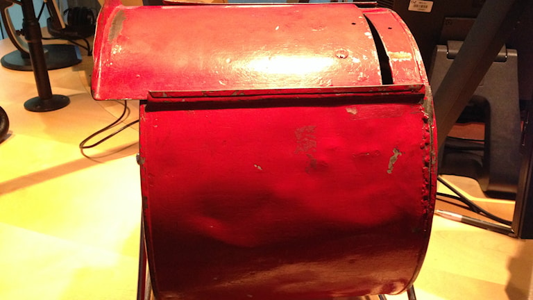 Den röda Tombolan Foto: Jenny Goldkuhl/Sveriges Radio