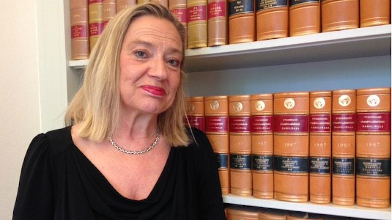 Karin Rågsjö, Vänsterpartiet. Foto: Johanna Sjöqvist/SR