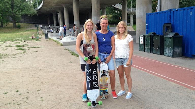 Deltagare i Skateathon.