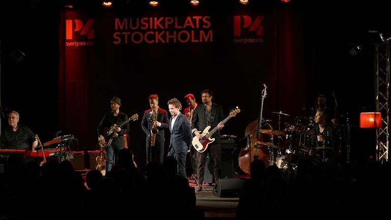 Bo Kaspers Orkester på Musikplats Stockholm.