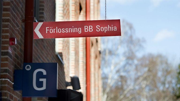 BB Sophia förlossning