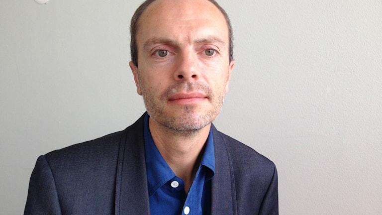Nicholas Aylott, statsvetare Södertörns högskola. Foto: Johanna Sjöqvist/Sveriges radio