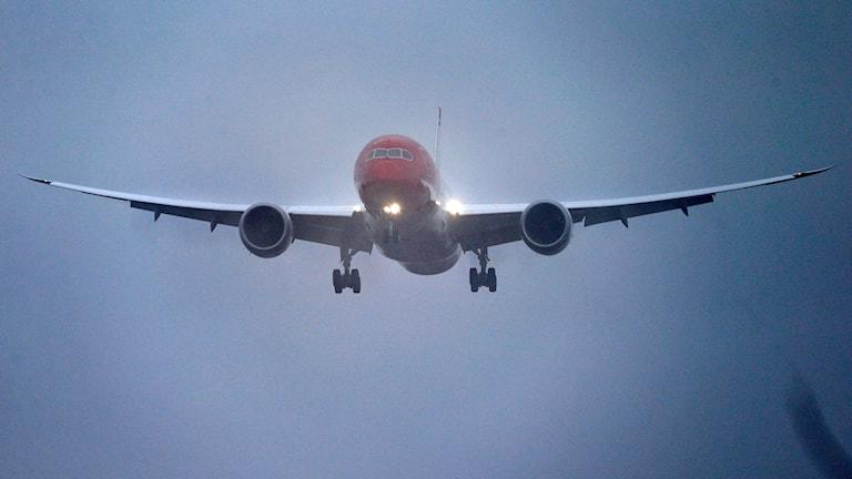 Norwegians Dreamliner DY7002. Foto: Cornelius Poppe / NTB scanpix /TT.