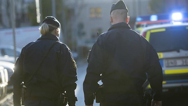 Polisen har gripit tre misstänkta våldtäktsmän. Foto Fredik Sandberg/TT