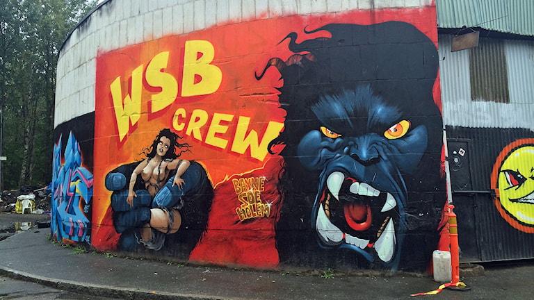 Graffiti i Högdalen