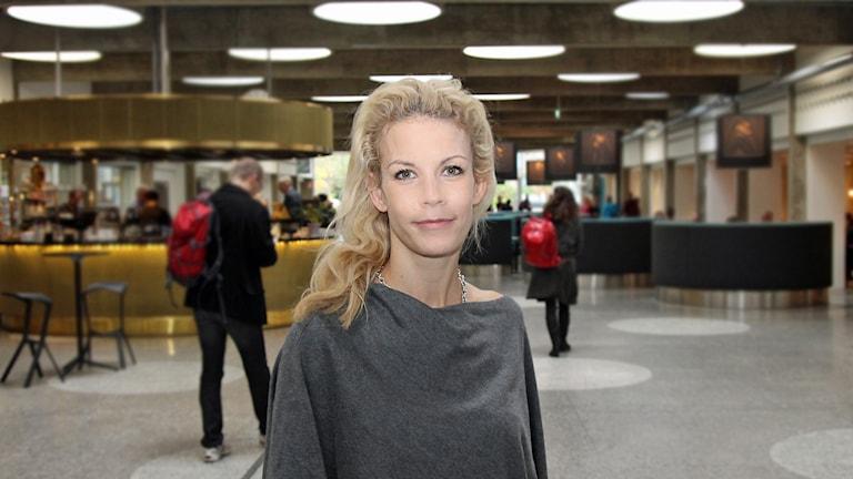 Anna König Jerlmyr (M). Foto: Helen Ling /Sveriges Radio.
