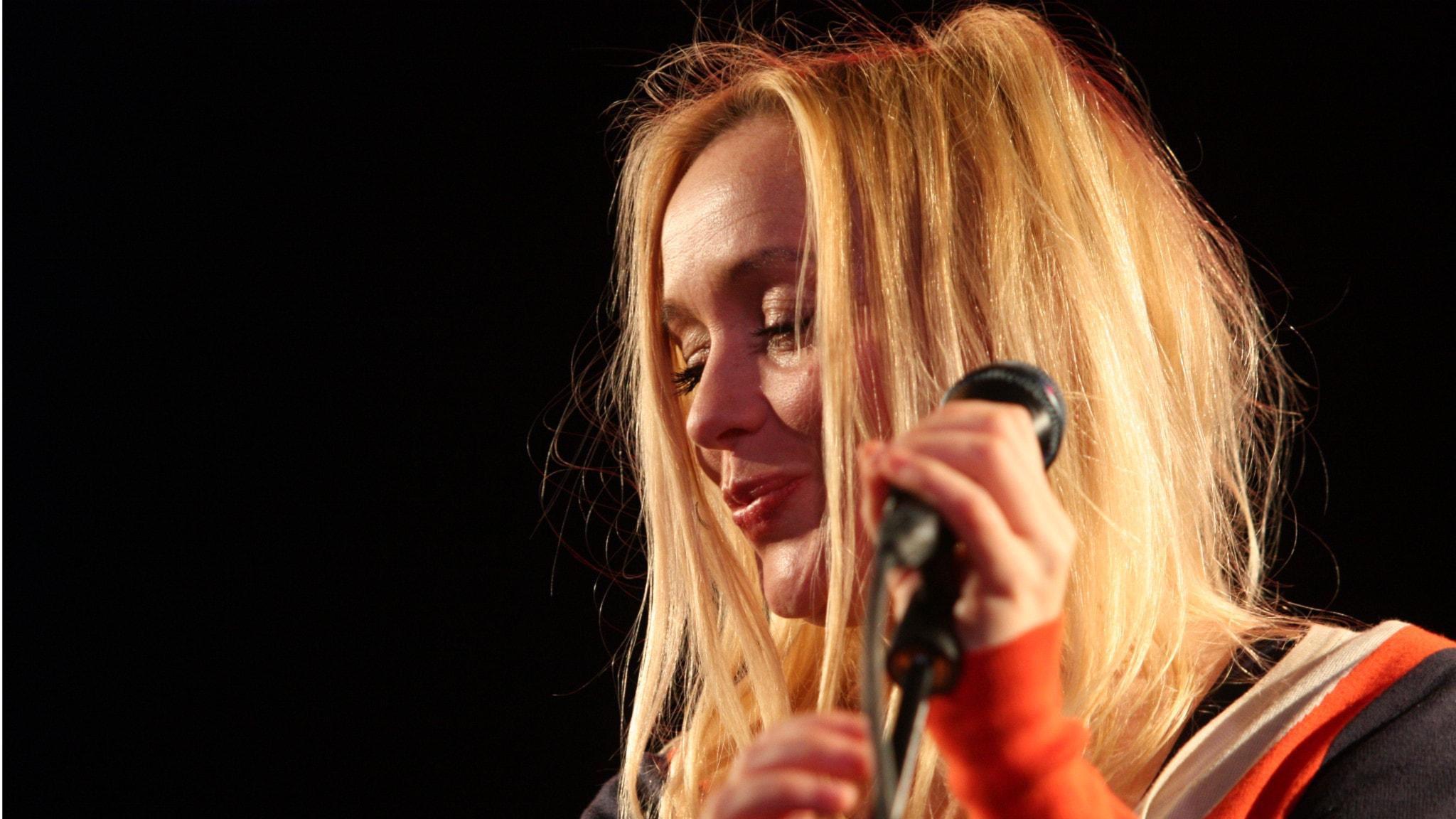 Lisa Ekdahl på Musikplats Stockholm. Foto: Lars-Åke Gustavsson/Sveriges Radio