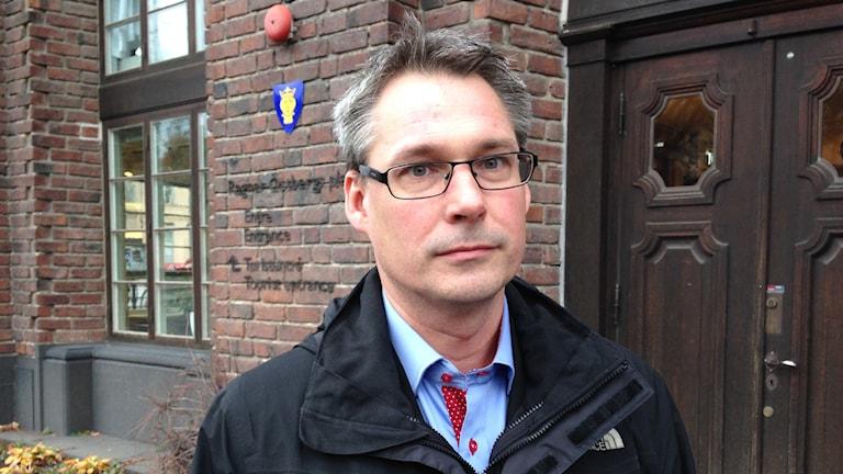 Roger Mogert. Foto: Sara Cosar/Sveriges Radio