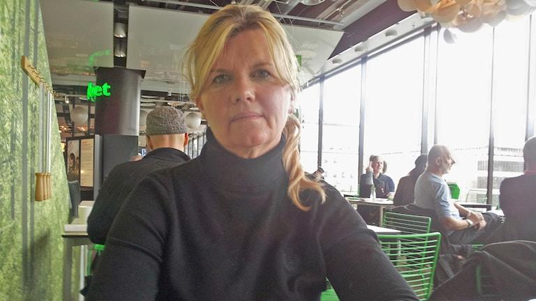 Mervi Harju. Foto: Peter Johansson /Sveriges Radio.
