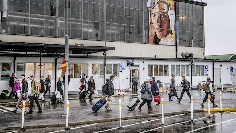 Bromma flygplats. Foto: Tomas Oneborg/Svd/TT
