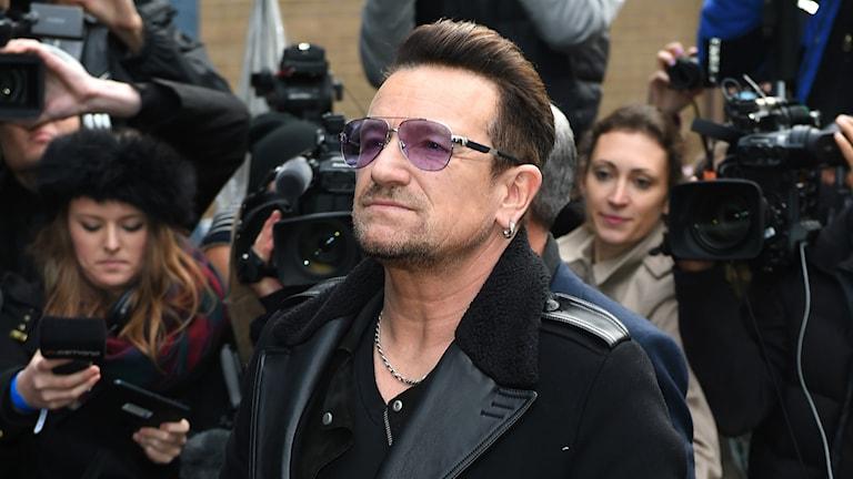 Band Aid 30. Bono. Foto: TT Nyhetsbyrån