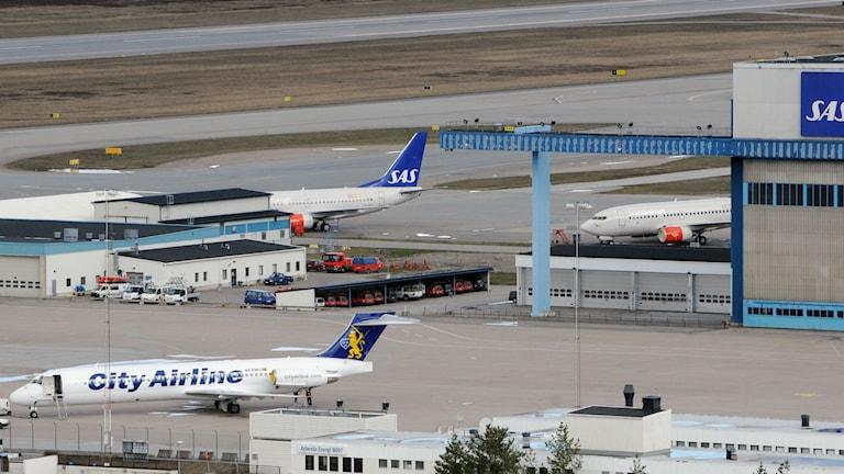 Arlanda flygplats. Foto: Johan Nilsson/TT