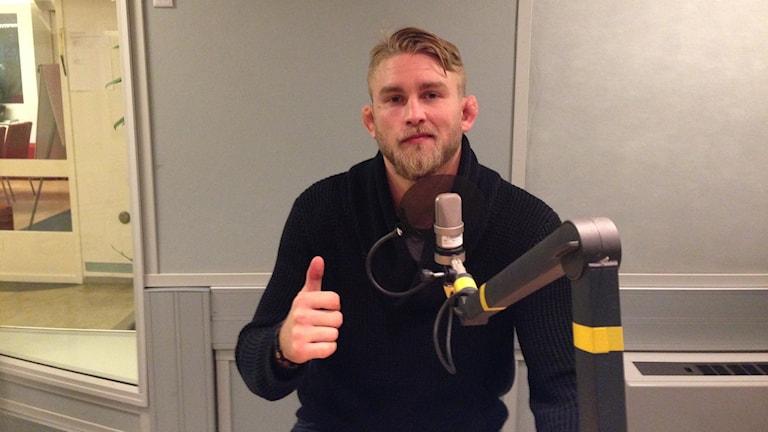 "Alexander ""the Mauler"" Gustafsson. Foto: Sara Cosar/Sveriges Radio"