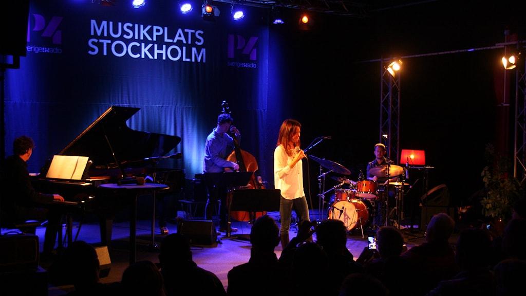 Rigmor Gustafsson. Foto: Lars-Åke Gustavsson/Sveriges Radio