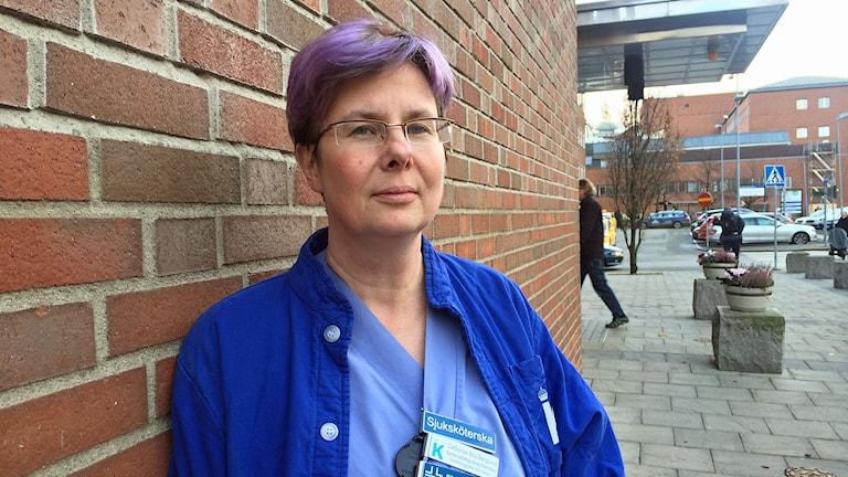 Sjuksköterskan Catharina Bau-Berglund