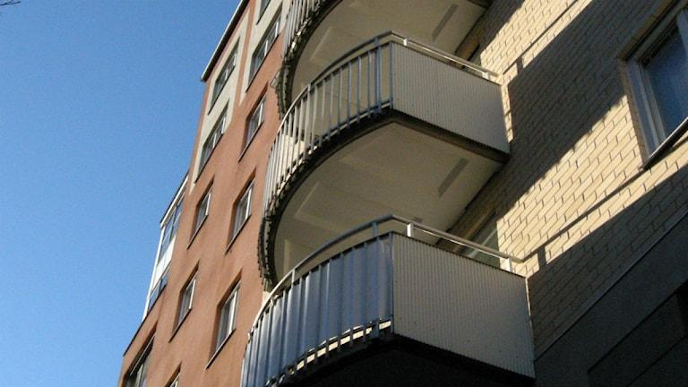 Bostadshus i Stockholm. Foto: Hasse Holmberg/TT.