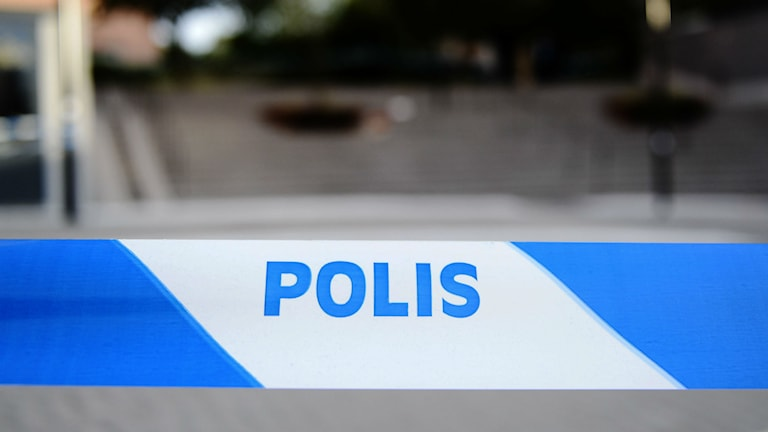 Polisavspärrning. Foto: Pontus Lundahl/TT