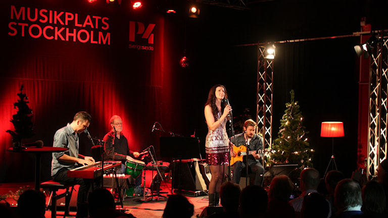 Sonja Aldén Musikplats Stockholm. Foto: Lars-Åke Gustavsson/Sveriges Radio