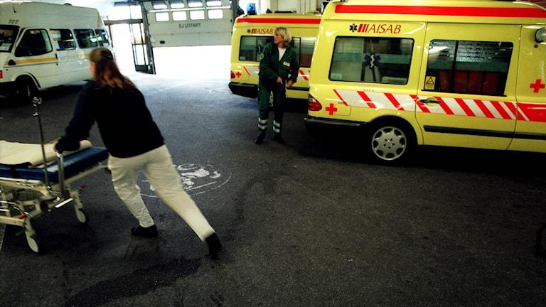 Akutmottagningen på S:t Görans sjukhus. Foto: Daniel Roos/Scanpix