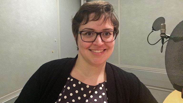 Författaren Julia Skott