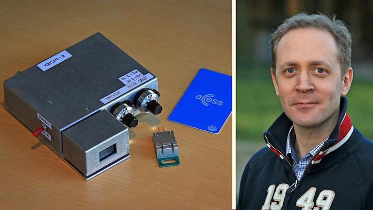 Virusvarnaren och forskaren Fredrik Carlborg. Foto: KTH /CC.