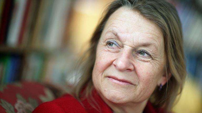 Ingela Gardner Sundström (M),  kommunfullmäktiges ordförande i Österåker. Foto: Fredrik Persson /TT.