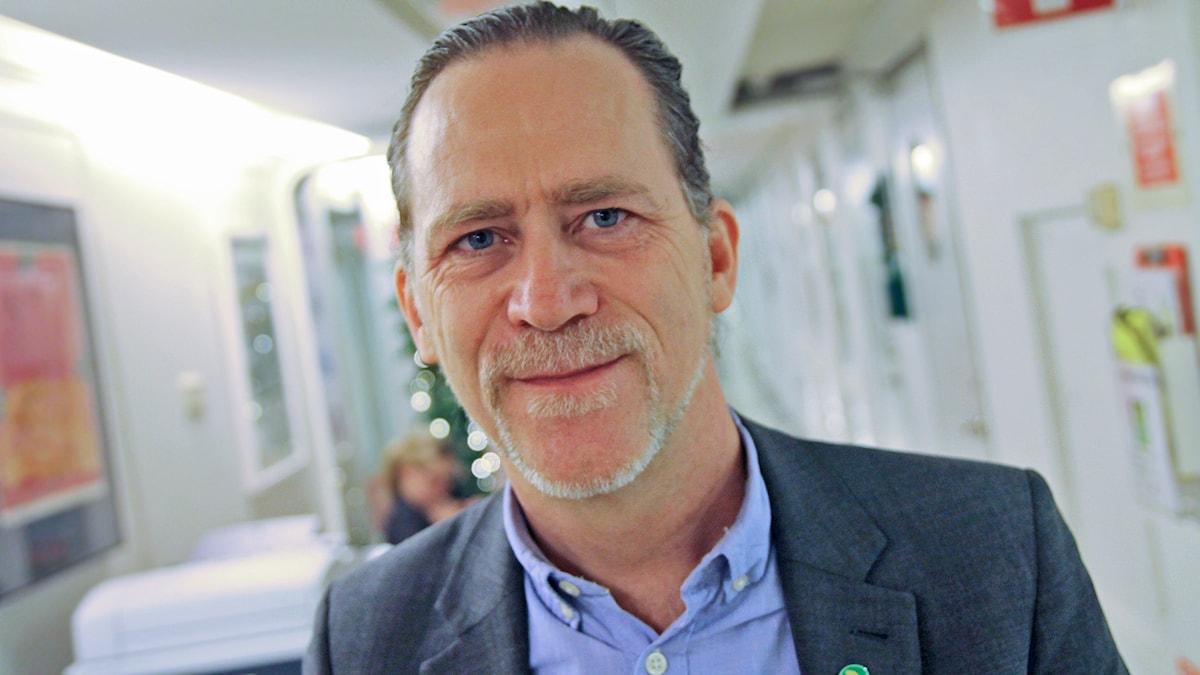 Daniel Helldén (MP). Foto: Helen Ling /Sveriges Radio.