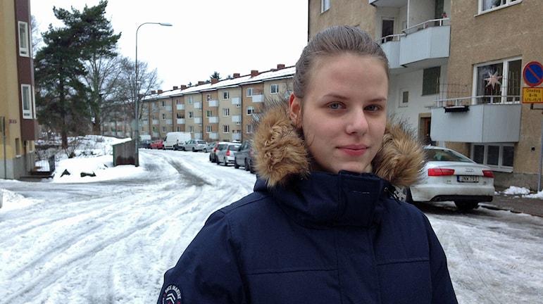 Carolina Nilsson, Ung vänster.
