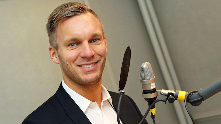 Erik Slottner, Kristdemokraternas gruppledare i Stockholm. Foto: Helen Ling /Sveriges Radio.