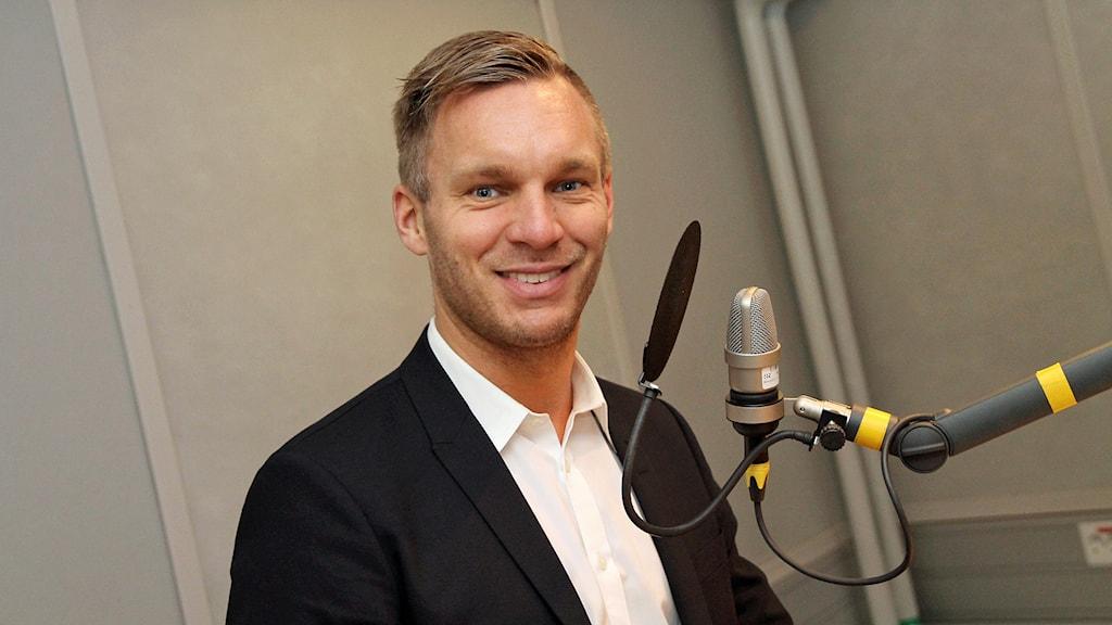 Erik Slottner (KD). Foto: Helen Ling /Sveriges Radio.