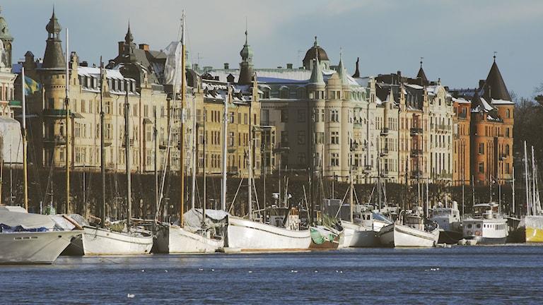 Strandvägen. Foto: Hasse Holmberg/Scanpix