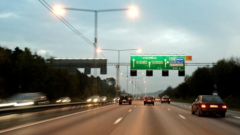 Tisdagspanelen om hur vi medmänniskor irriterar varandra. Till exempel i trafiken. Foto: Henrik Montgomery/TT.