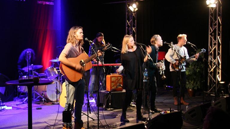Brothers Among Wera på Musikplatsen. Foto: Lars-Åke Gustavsson/Sveriges Radio