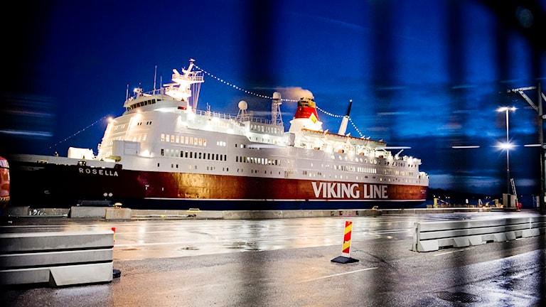 Viking Amorella. Foto: Erik Mårtensson/TT