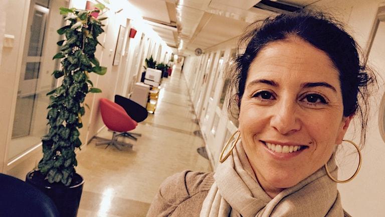 Dilsa Demirbag Sten, verksamhetsansvarig Berättarministeriet.