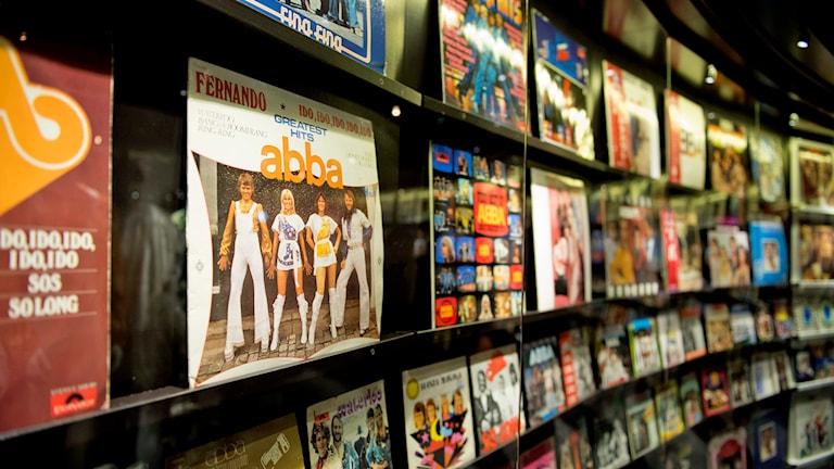 Det nya Abba-museet på Djurgården i Stockholm som är en del av Swedish Music Hall of Fame. Foto: Jessica Gow /TT.
