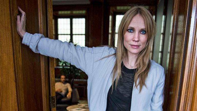 Skådespelaren Moa Gammel. Foto: Per Larsson / TT