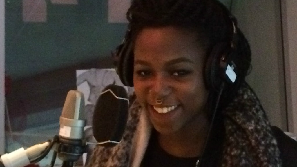 Sabina Ddumba i Musikplats Stockholm. Foto: Fredrik Eliasson/Sveriges Radio