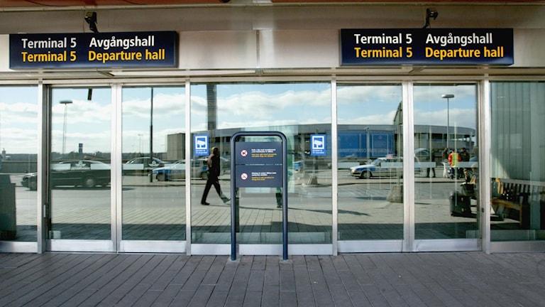 Terminal fem, Arlanda. Foto: Bertil Ericsson/Scanpix