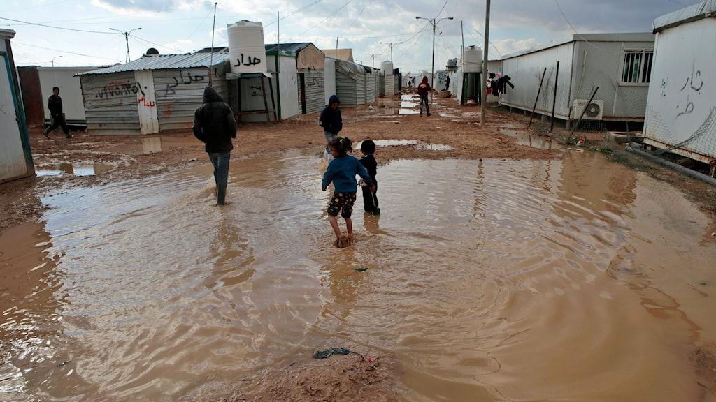 Flyktingläger i Syrien. Foto: AP Photo/Raad Adayleh/TT.