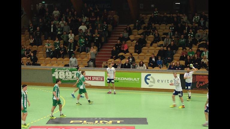 Hammarby handboll. Foto: Otto Marand /Sveriges Radio.