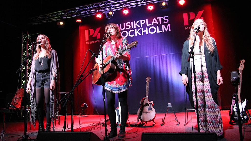 Abalone Dots Musikplats Stockholm. Foto: Helen Ling /Sveriges Radio.