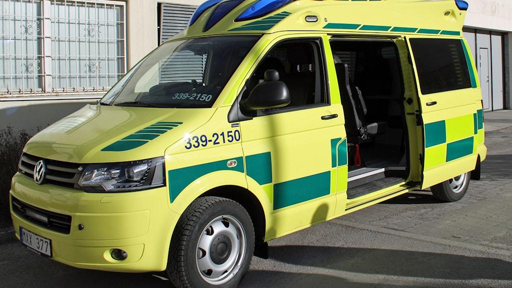 Den nya psykbilen. Foto: Norra Stockholms psykiatri.